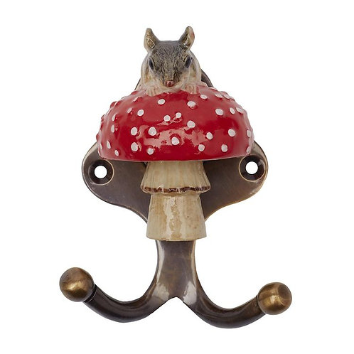 Mouse on a Toadstool Hook - And Mary