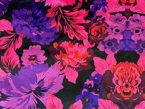 THOK Floral Morelle: Velvet Fuchsia