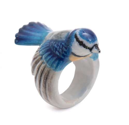 Blue Tit Ring - And Mary
