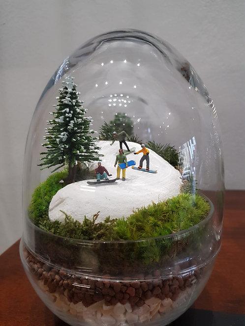 Snowboarders - TerrariumArt