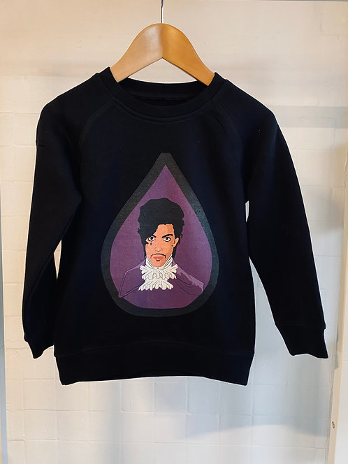 Purple Rain kids unisex sweater