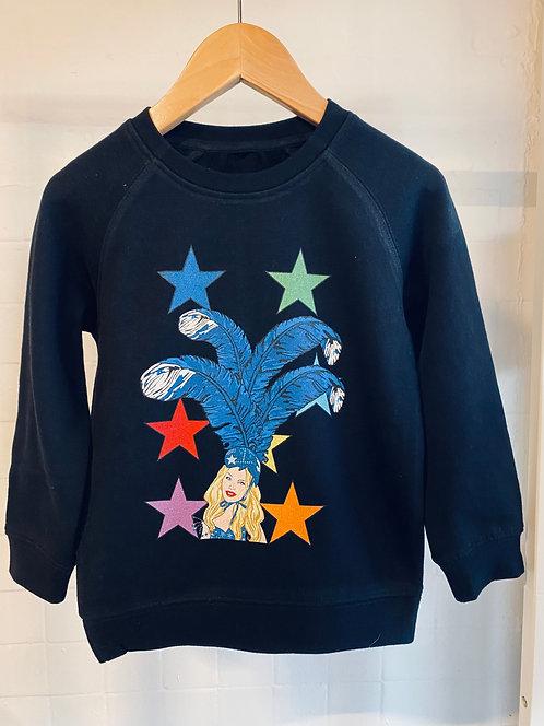 Showgirl kids unisex sweater