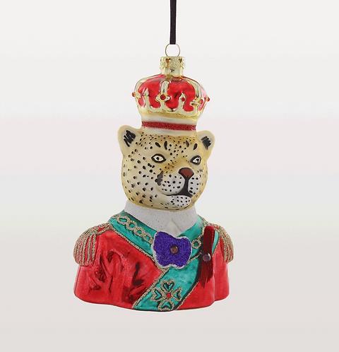 Regal Prince Gold Leopard Decoration