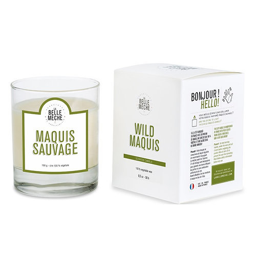 Wild Maquis Scented Candle - La Belle Mèche