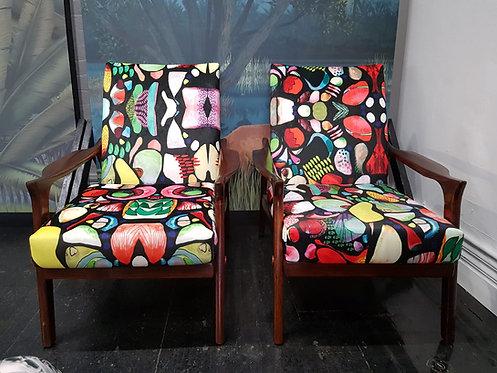 Danish Deluxe Mid Century Inga Chairs (one left!)