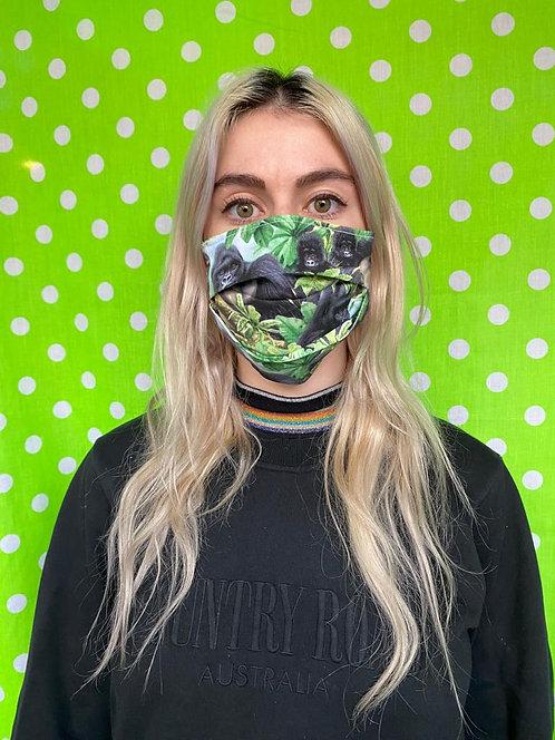 Gorilla family Face Mask