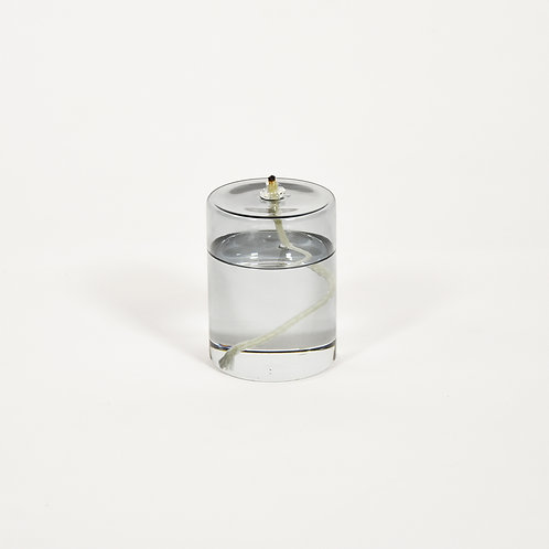 Olie medium Oil Lamp Smoked grey - Eno Studio