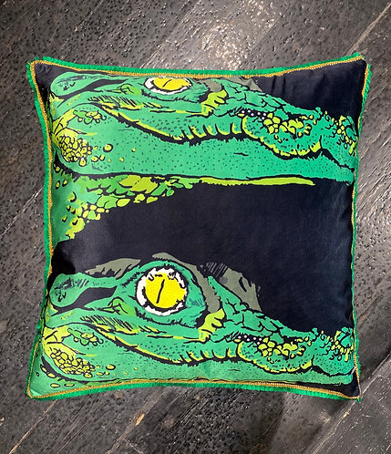 Thok Crocodile Cushion