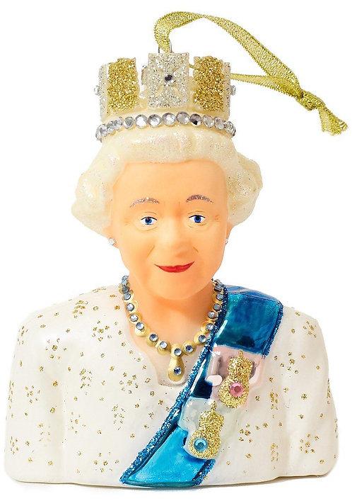 Queen Elizabeth II Christmas Decoration
