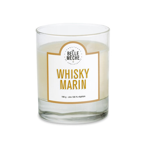 Peated Whiskey Scented Candle - La Belle Mèche
