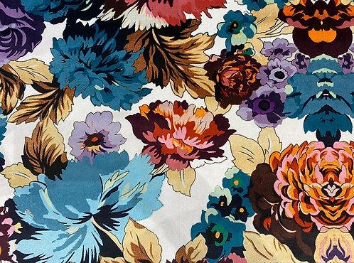 THOK Floral Morelle: Velvet White