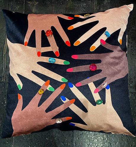 Fingers on the pulse cushion