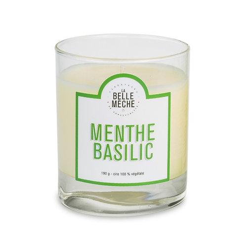 Mint Basil Scented Candle - La Belle Mèche