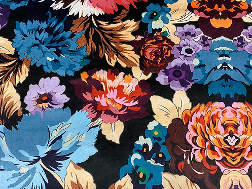 THOK Floral Morelle: Velvet Black