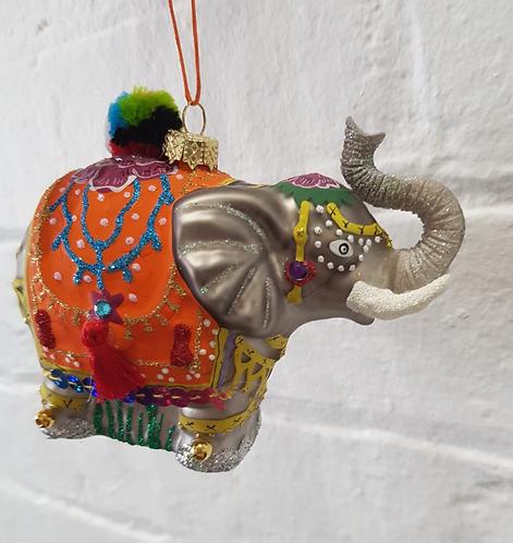 Palace Elephant Ornament