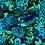 Thumbnail: THOK Floral Morelle: Velvet Teal