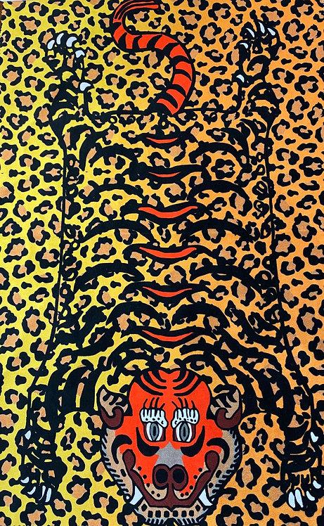 THOK Tibetan Tiger Velvet