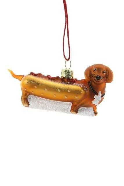 Weiner Pup Hot Dog Decoration