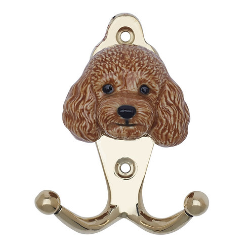Apricot Poodle Hook - And Mary