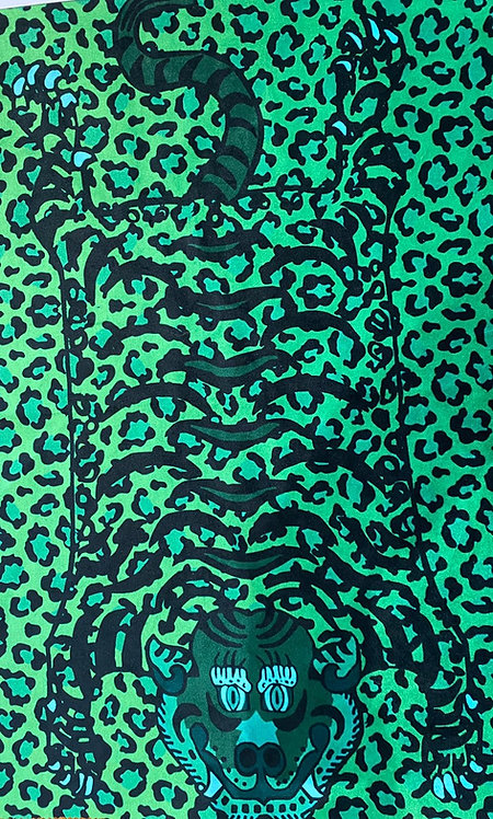 THOK Tibetan Tiger Green Velvet