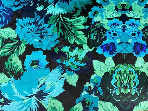 THOK Floral Morelle: Velvet Teal