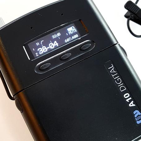 New Gear Day // Audio Ltd A10 Digital Wireless (w/ DPA Core 4061 mics)