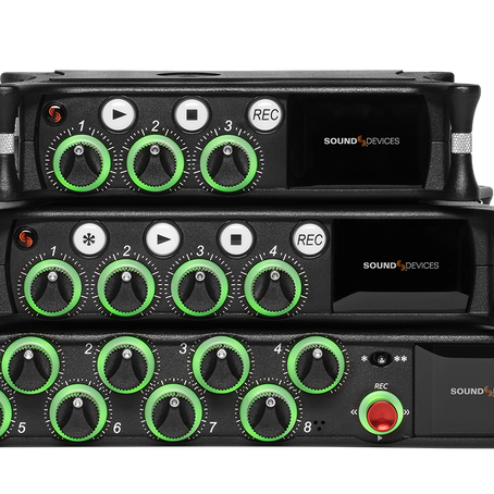 Sound Devices refresh their entire range!