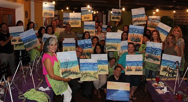 Paint Night 7.6.2017