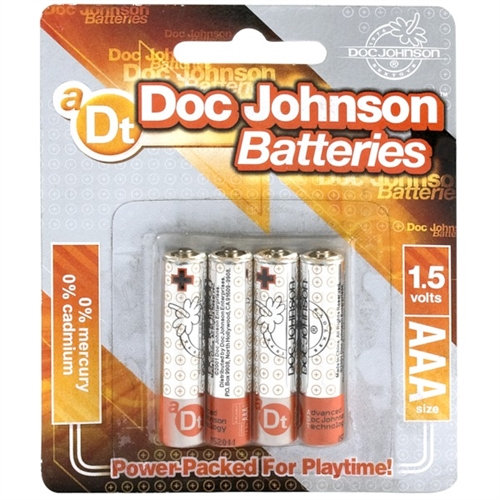 Doc Johnson Batteries - AAA - 4 Pack