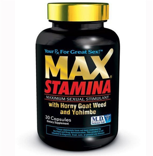Max Stamina - 30 Count Bottle