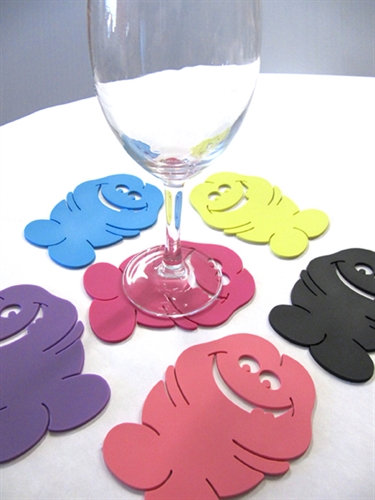 Bachelorette Pecker Coasters - 6 Pack