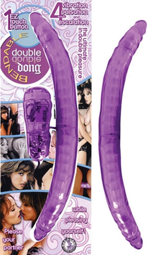 Bendable Double Dong Lavender