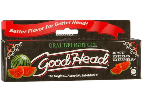 Good Head Oral Delight Gel 4 Oz - Watermelon