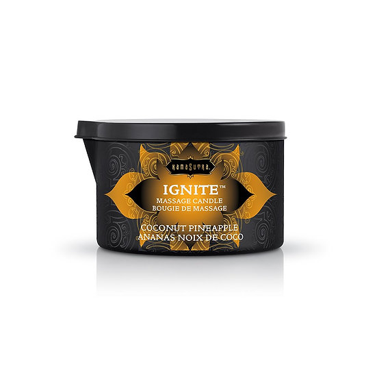 Ignite Coconut Pineapple Massage Candle - 6 Oz