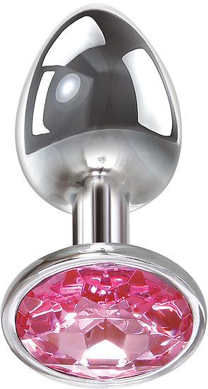 Pink Gem Anal Plug- Medium