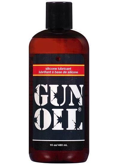 Gun Oil Silicone Lubricant 16 Oz