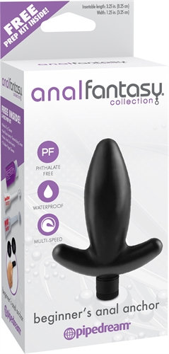 Anal Fantasy Collection Beginners Anal Anchor - Black