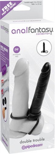 Anal Fantasy Collection Double Trouble - Black