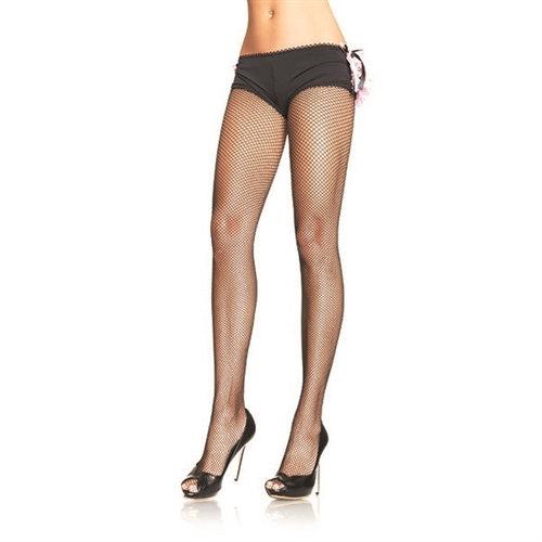 Fishnet Pantyhose - One Size - Black