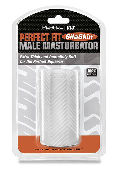 Perfect Fit Male Masturbator - Clear