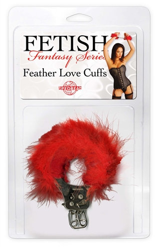 Fetish Fantasy Love Cuffs - Red