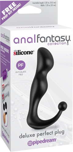 Anal Fantasy Collection Deluxe Perfect Plug - Black