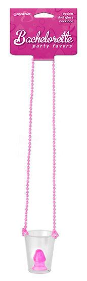 Pecker Shot Glass Necklace