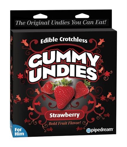 Gummy Undies - for Him - Strawberry