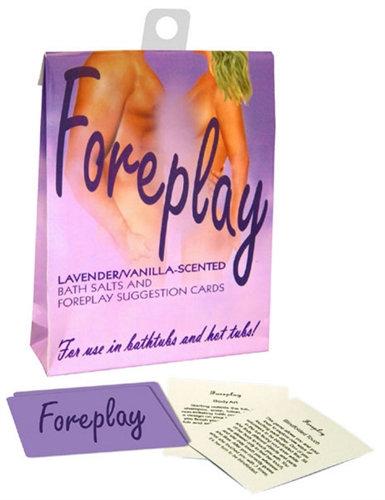 Foreplay Bath Set - Lavender and Vanilla