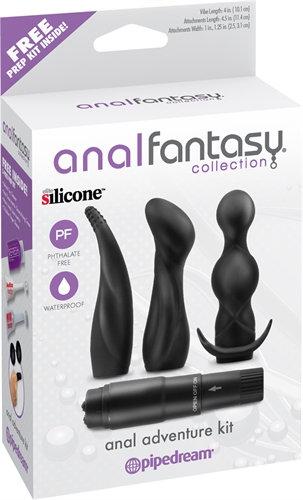 Anal Fantasy Collection Anal Adventure Kit - Black