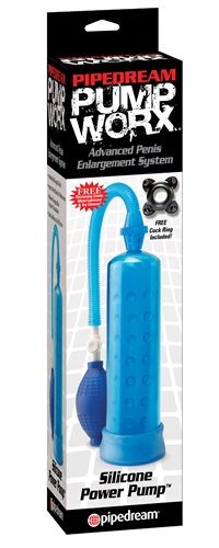 Pump Worx Silicone Power Pump - Blue