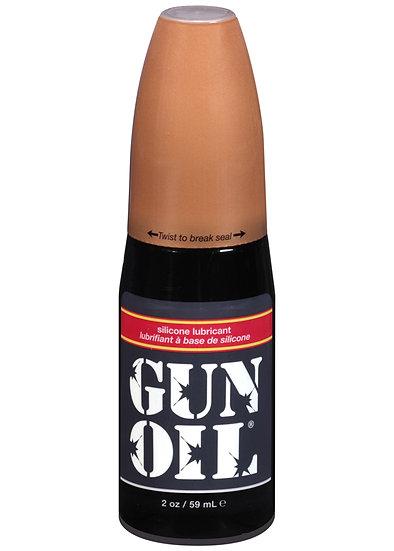 Gun Oil Silicone Lubricant - 2 Oz.