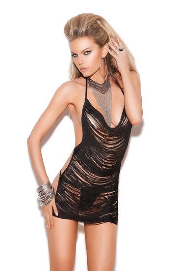 Mini Dress - One Size - Black