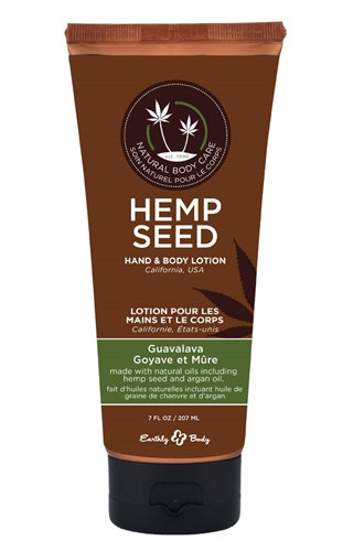 Hemp Seed Hand & Body Lotion - 7 Fl. Oz. - Guavalava